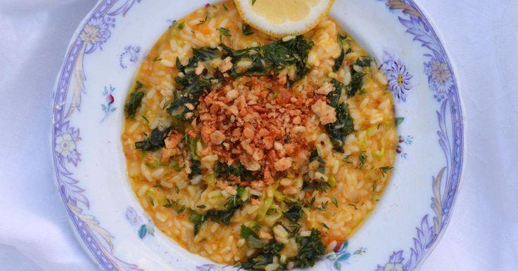 Ät mer risotto! Det är värmande sjukt gott och imponerande. Visst, det tar lite tid men det är så värt det. Perfekt bjudmat! /Siri