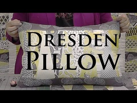 "▶ Dresden Pillow - Make a Cute Pillow with Layer Cakes (10"" Squares) - YouTube @missouriquiltco"