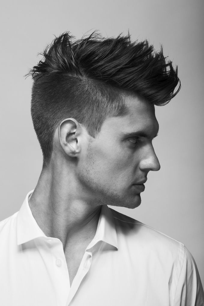 Right sides, loose quiff top