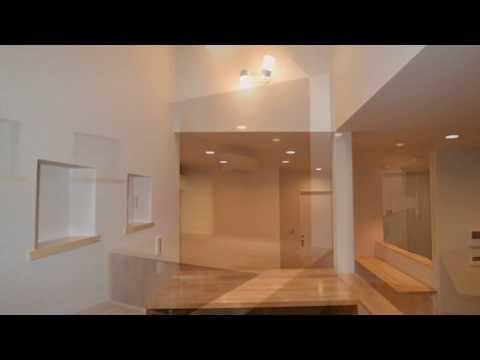 中二階 スタディスペース 書斎コーナー スキップフロアー 福岡市東区清武建設
