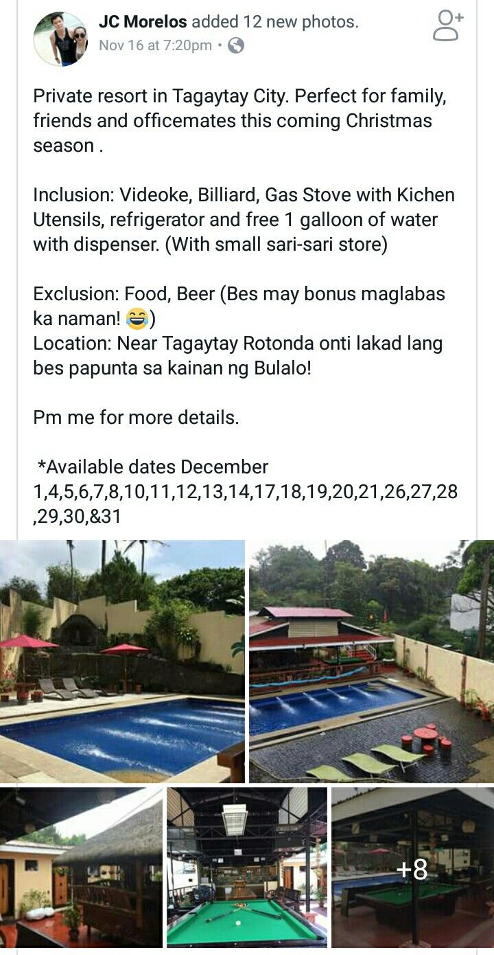 Private Resort Tagaytay City | It's more fun in the PHILIPPINES