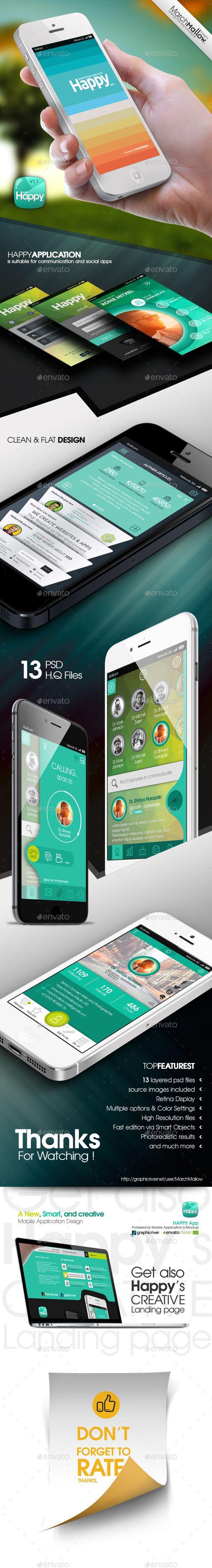 Happy App (User Interfaces)