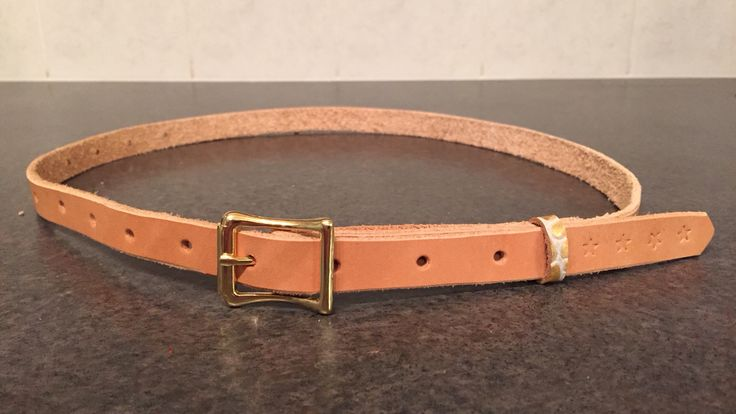 Women's Belt, Natural with Alligator print accent