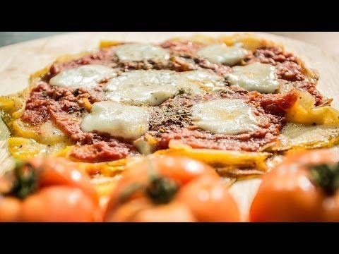 PIZZA senza Farina e Impasto.. molto diversa ma buonissima! - YouTube