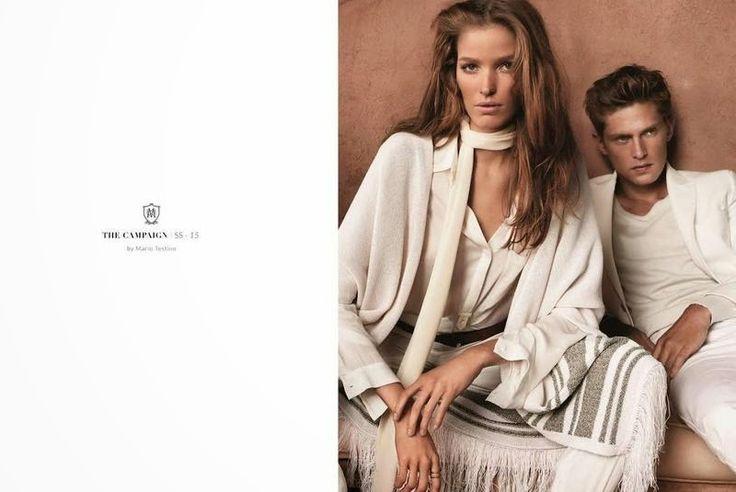 Massimo Dutti Ad Campaign Spring/Summer 2015