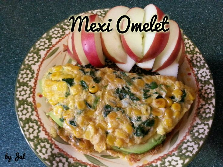 Mexi Omelet This recipe is based from Dr. Phil 20/20 diet program, Phase 2 Breakfast.