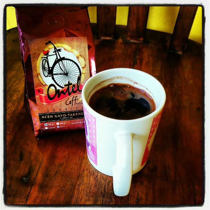 Sipping a nice aceh gayo