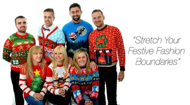 """Home of Cheesy Christmas Jumpers """"Stretch your festive fashion boundaries"""" #christmas #jumpers #christmasjumpers #christmassweaters"""