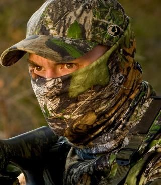 Buff Hunting Headwear with Insect Shield: Masks and Gloves   Free Shipping at L.L.Bean
