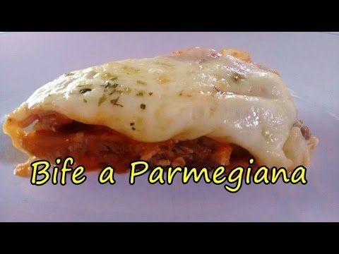 (53) Bife a Parmegiana sem Fritura ! (por Fernando Couto) - YouTube