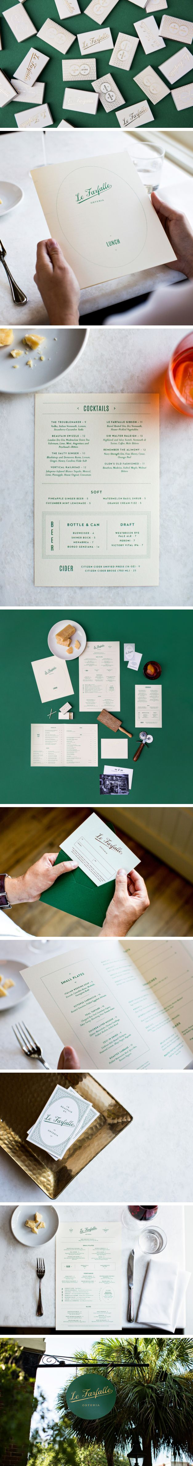 Brand Identity for Le Farfalle by One & Other