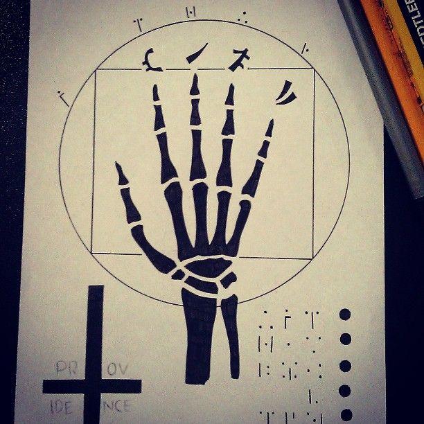 My Hand of Glory print.