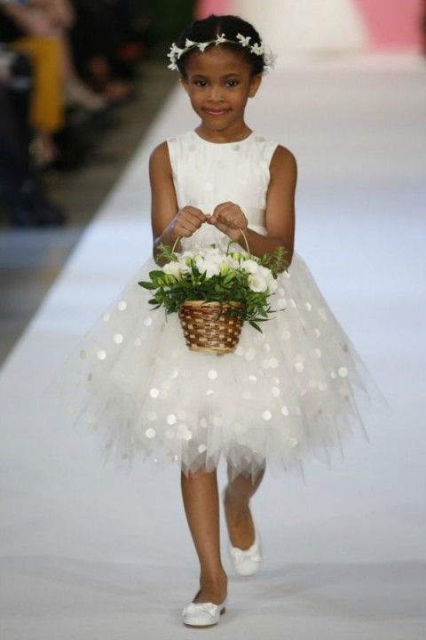 74 Adorable Flower Girl Dresses | HappyWedd.com