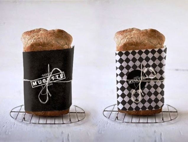Desain Kreatif Kemasan Makanan - MUSETTE bakery oleh Judit Besze