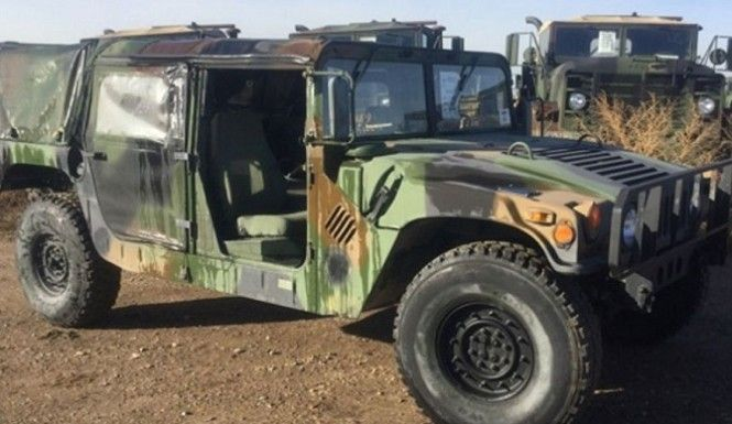 The U.S. Army will auction off 4,000 of its Humvees to civilians. Here's your chance to own these military-spec'd vehicles. There's just one catch though