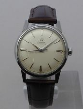 Vintage From 1959 Men's Omega Automatic 17J. Wristwatch One Year Warranty 142