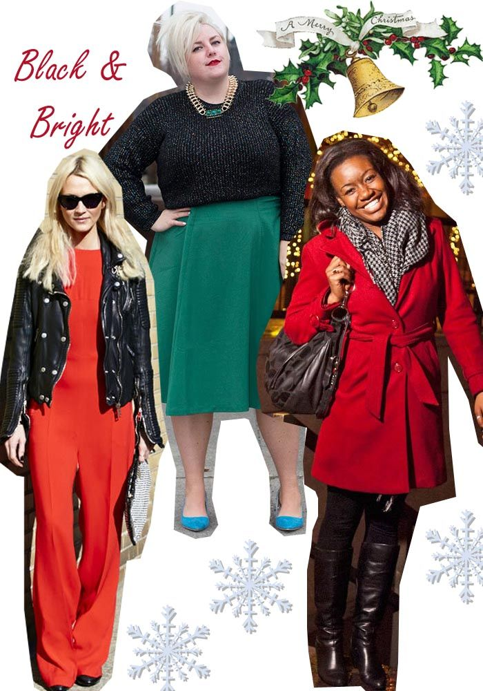 3094891a80 christmas outfit ideas subtle black red and green