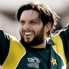 Sahid Afridi - I like the sound when bat hits the bowl