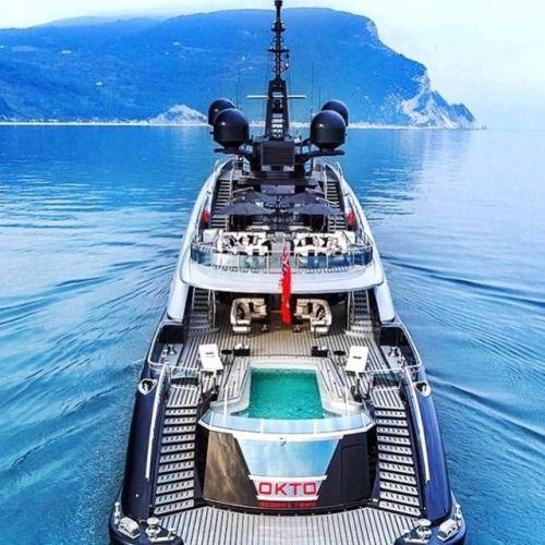 $61400000 Mega Yacht OKTO  Tag some Friends youd...