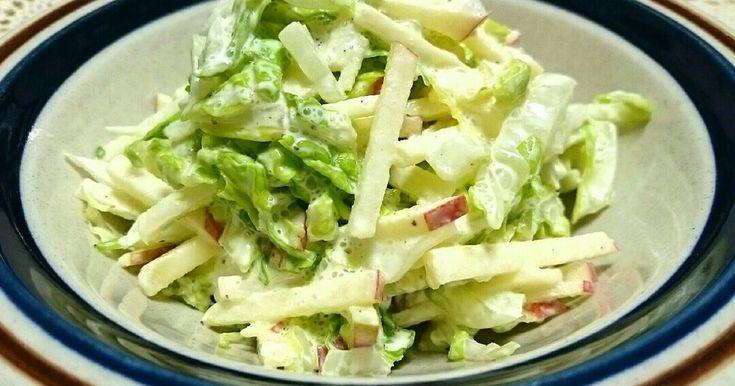 白菜とりんごのさっぱりサラダ