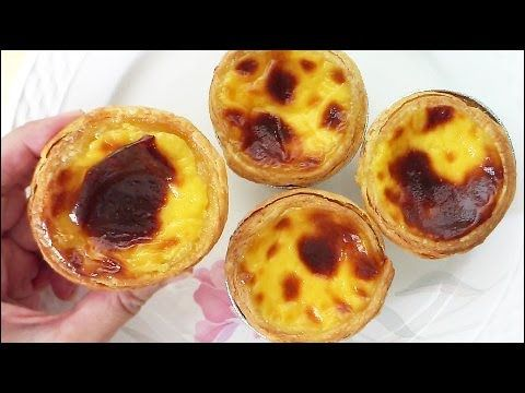 KitchenTigress: Portuguese Egg Tarts (葡式蛋挞)