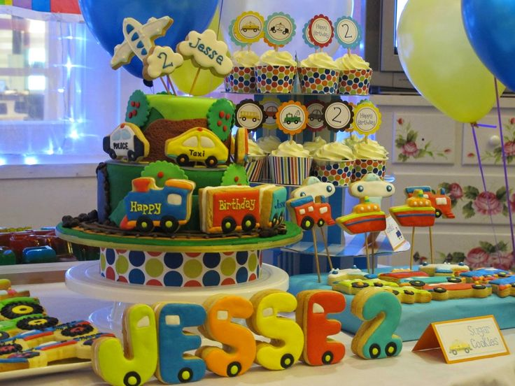Adore By Nat: Pictures Sharing Time: Transportation Themed Party