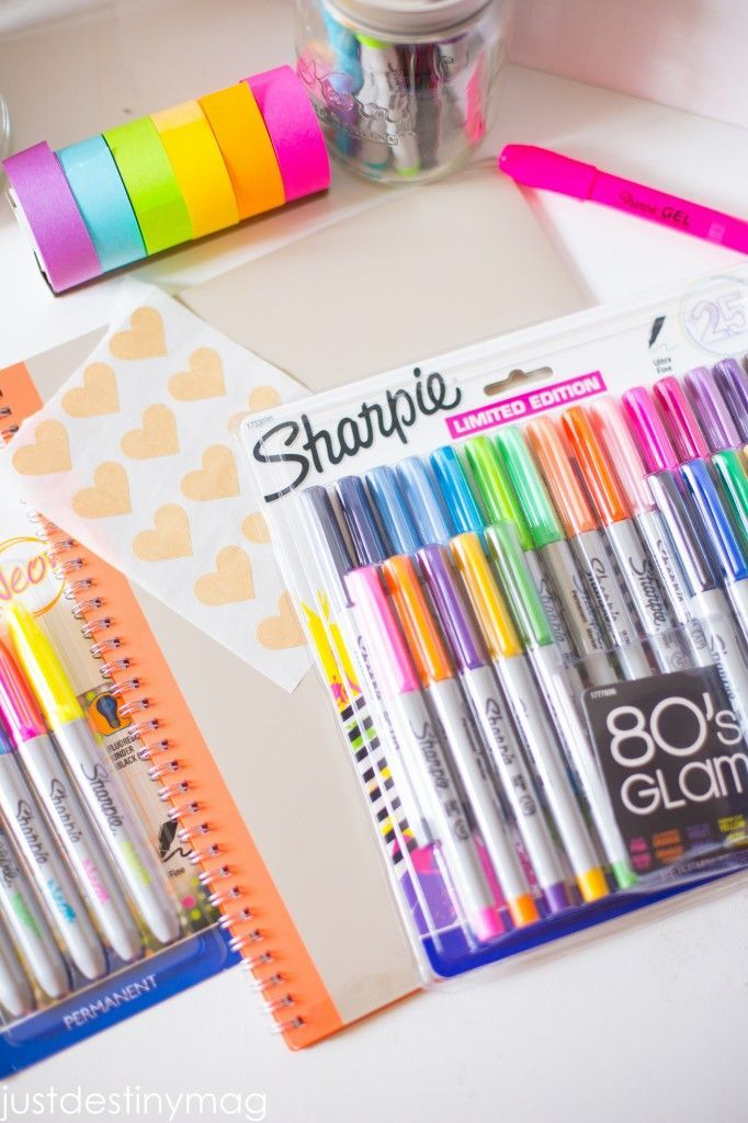 The Best Sharpies! I love using these Sharpies for my planner!
