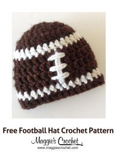 Crochet Pattern Our Father : 1000+ ideas about Crochet Football Hat on Pinterest ...