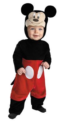 Baby Mickey Mouse Costume - Mickey Mouse Costumes