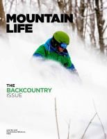 Cracking write up in 'Mountain Life', featuring our sponsored skier Caleb Brown.  Photo & story by Abby Cooper. Check it out on page 94. http://www.mountainlifemag.ca/flipmag/gb/latest/#94