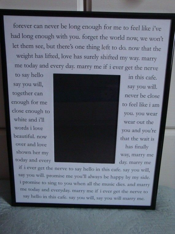 Marry Me By Train Custom Mat Fits Photo With Frame Perfect For Weddings Engagements Or Anniversaries
