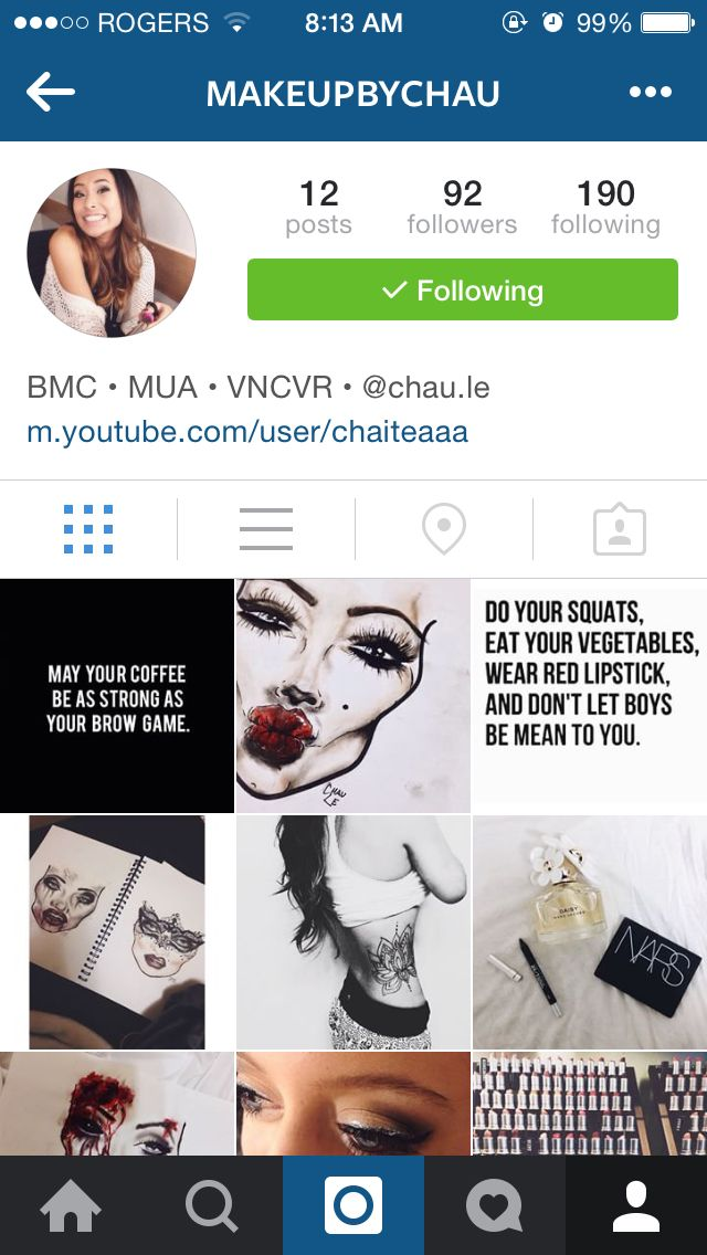 New makeup Instagram page! Please follow