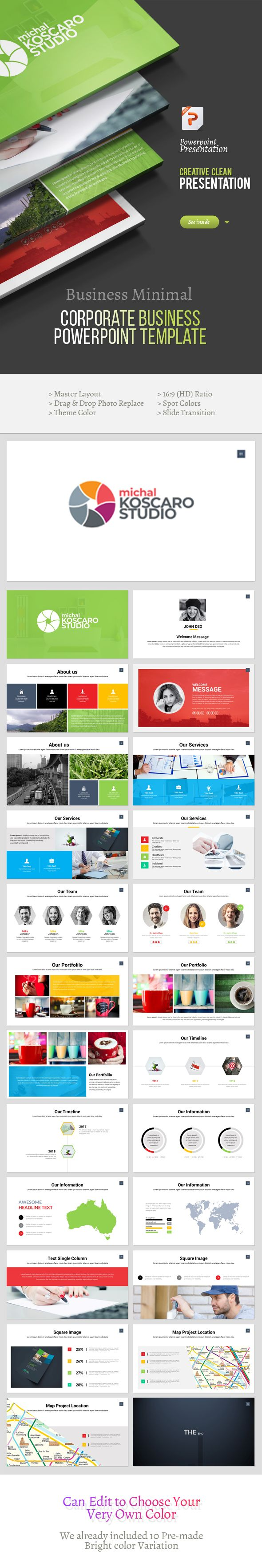 Best Powerpoint Templates Images On