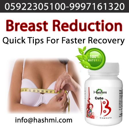 Safe and Natural Breast Reduction Capsules