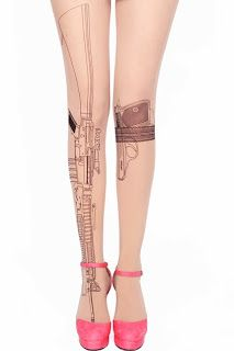 Girls Love Fashion: Les collants effet tatouage de chez Romwe