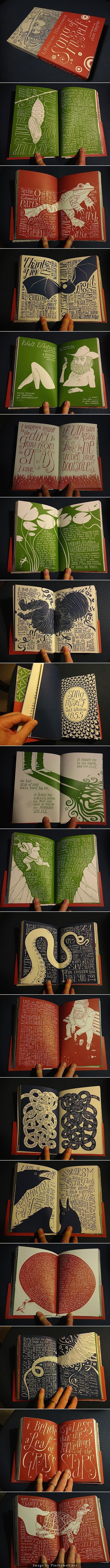 ✍ Sensual Calligraphy Scripts ✍ initials, typography styles and calligraphic art - Hand Illustrated Book by Allen Crawford: