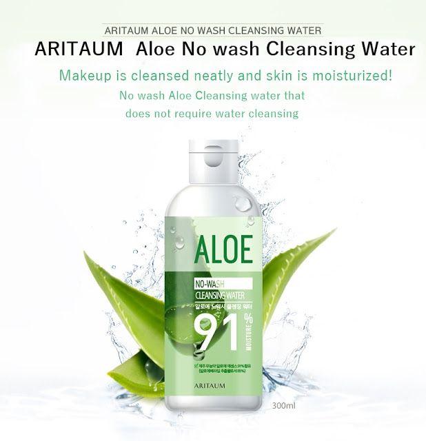 Korean Beauty Dream: [Aritaum] Aloe No Wash Cleansing Water