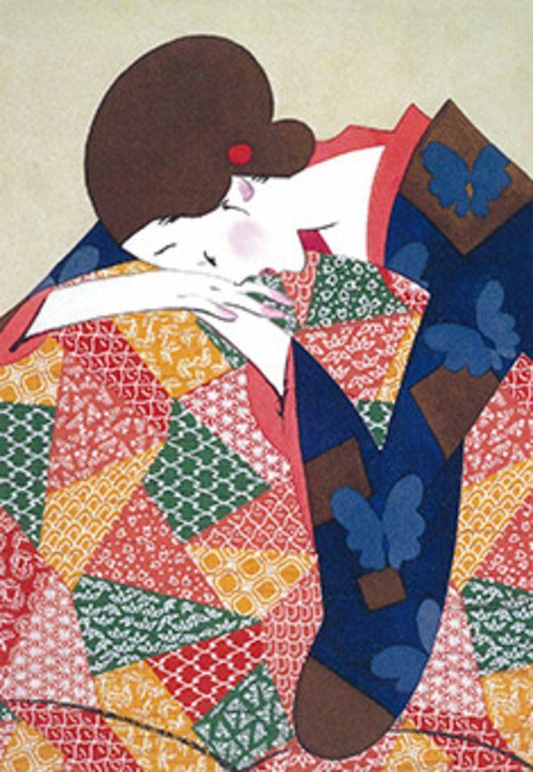 """""""愁う美女""""で世界を魅了…現代美人画の第一人者・林静一の画集発売 4枚目"""