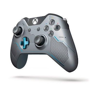 Xbox One Limited Edition Halo 5: Guardians Wireless Controller, Blue/Silver