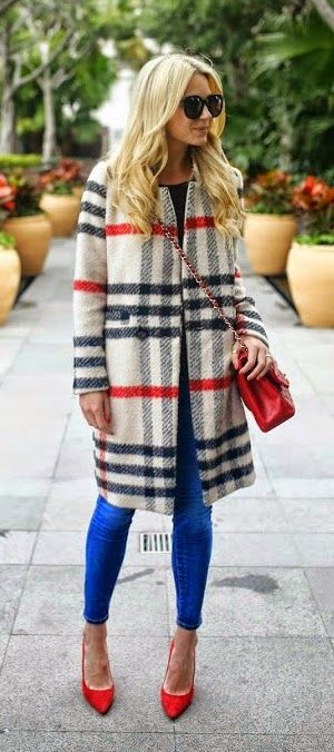 A bit too Ole Miss, but I do love it! Rebel friends feel free to rock this in the grove while I stare with envy!    Coat