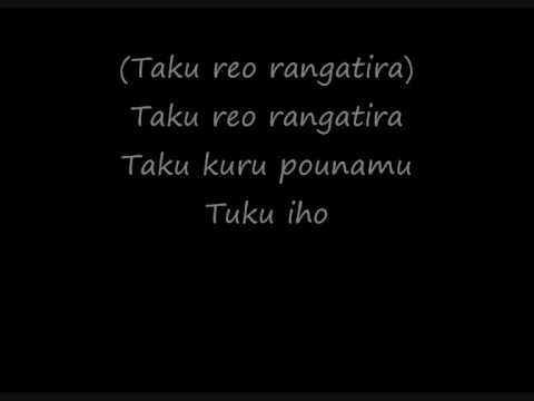 Lyrics On screen .This is a maori song which introduces the names of the months (good for beginners). I own none of the contents but found this was an easy w...