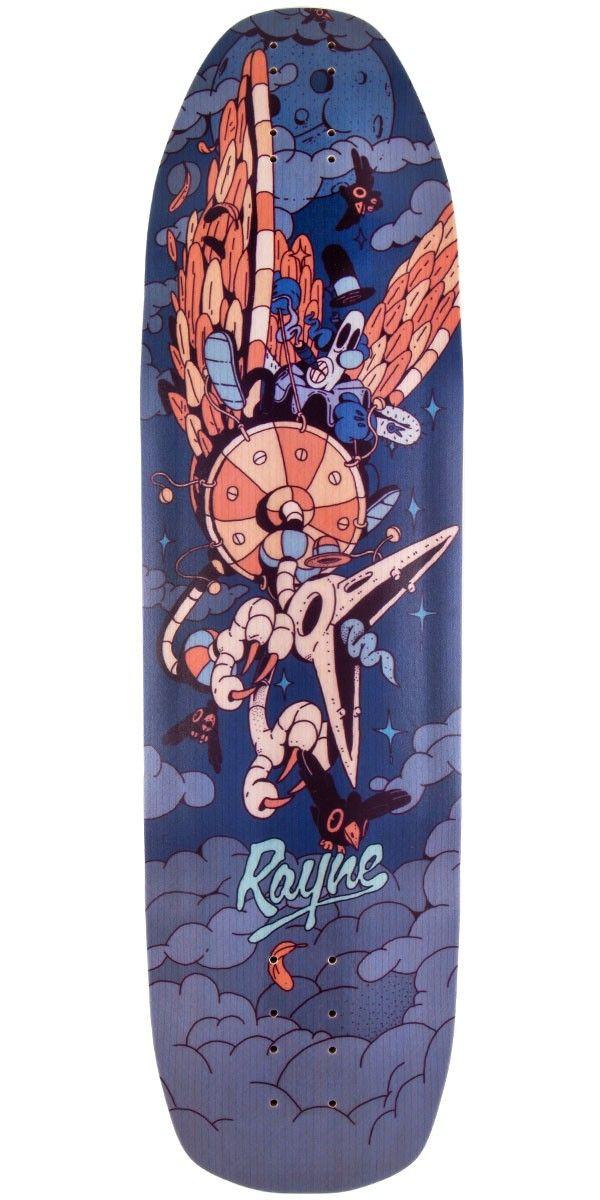 Rayne Patrick Switzer Misfortune V2 Longboard Deck