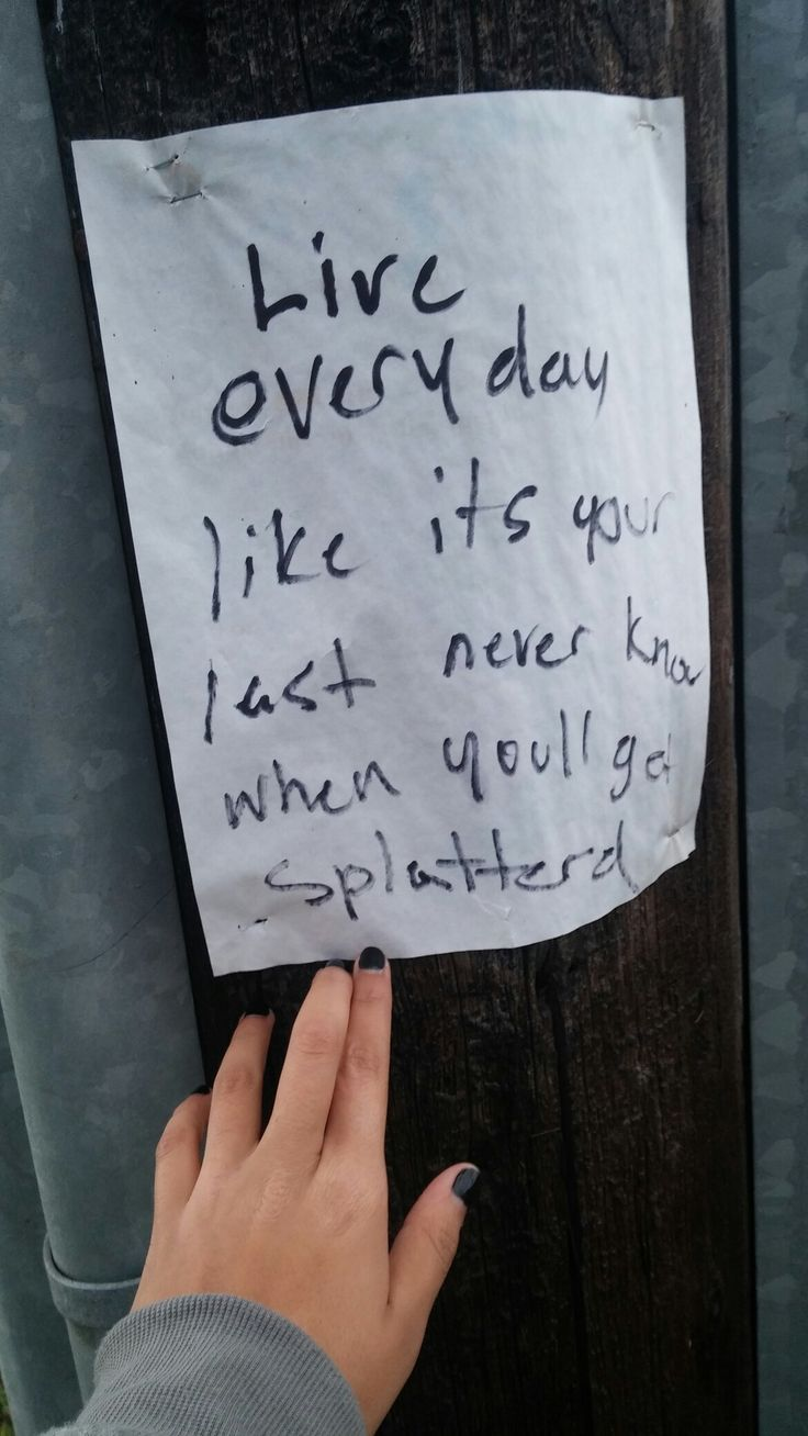 I saw this on my way to school, I thought it was the cutest thing, so I've decided to start putting some up around town.