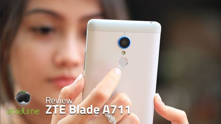 ZTE Blade A711 review video