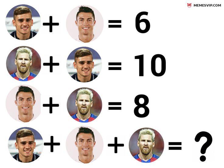 Meme Messi Cristiano y Griezmann #2018 #2019 #detodo #chistes #meme #memes #momos #español #memesenespañol #memesvip #memesvipcom #memesvip_com #chistecorto #humor #funny #risa #lol #chistesmalos #comparte #funnypictures #divertido #gracioso #spanishmemes #soccer #football #futbol #realmadrid #ronaldo #messi #fcbarcelona #griezmann #atleticodemadrid