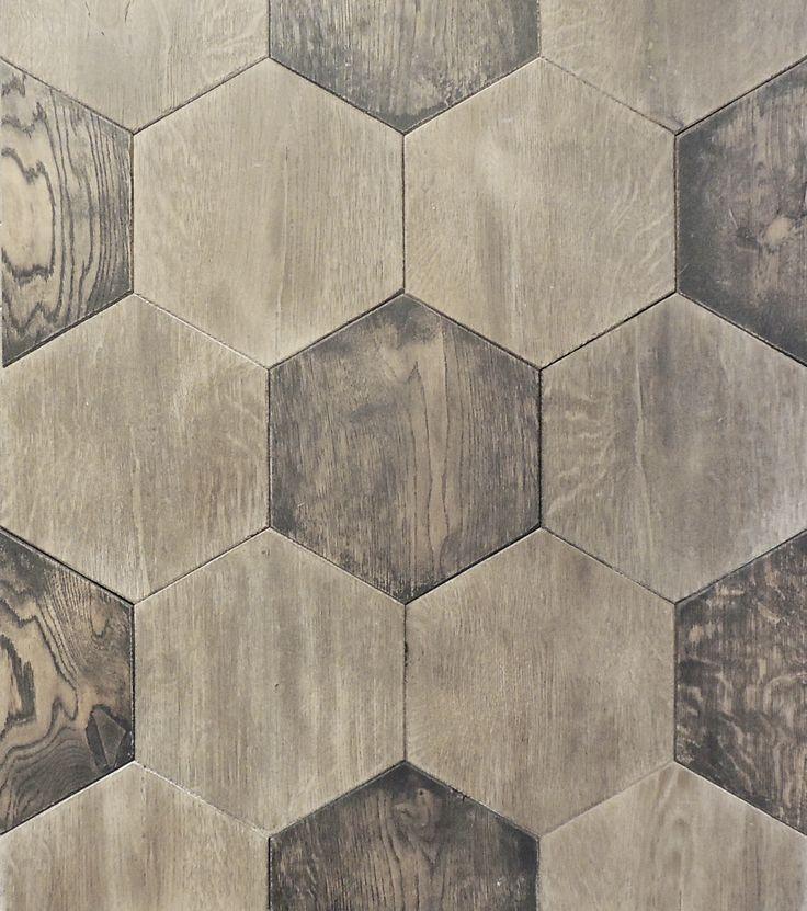 Hexagon French Oak parquet.