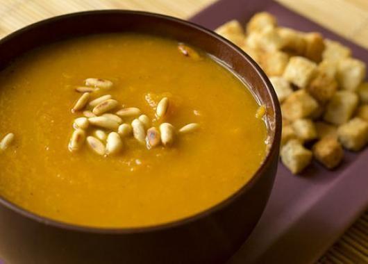 Δημιουργία - Επικοινωνία: Μαγειρική : Πικάντικη σούπα καρότο, τζίντζερ, κουκ...