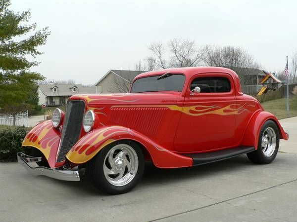 1933 Ford 3 Window Coupe & 23 best 1933 Ford images on Pinterest | Street rods Cars and ... markmcfarlin.com
