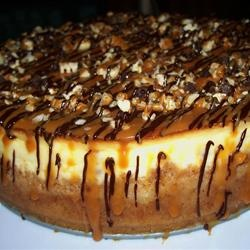 Chocolate Caramel Nut Cheesecake ~ A snickerdoodle cheesecake that ...
