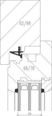 1000 id es propos de triple vitrage sur pinterest for Fenetre bois triple vitrage